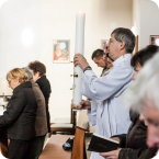 Pobožnosť + katechéza pre ženy a mužov