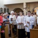 Sv. omša s procesiou